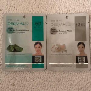 Dermal Aloe & Pearl Collagen Essence Mask